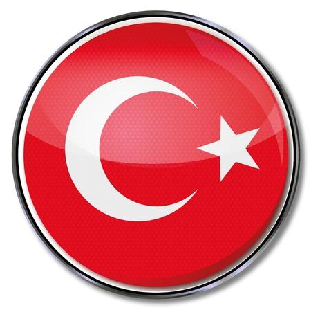 Button Turkey Vector