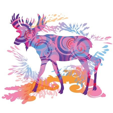 Moose Stock Vector - 15121718