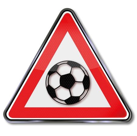 soccer sign Stock Vector - 15494957