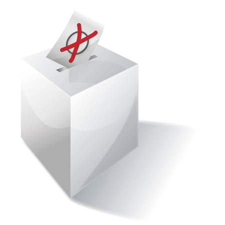 local election: ballot box