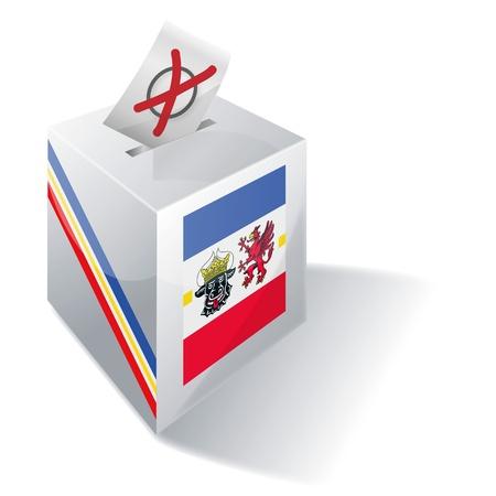 ballot box Mecklenburg-Western Stock Photo - 15301819