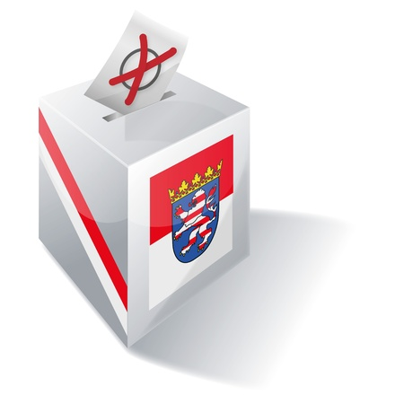 ballot box Hessen Stock Photo - 15301818