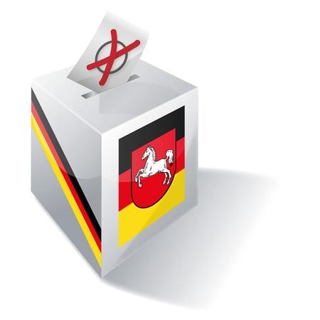 ballot box Lower Saxony Stock Photo - 15301817