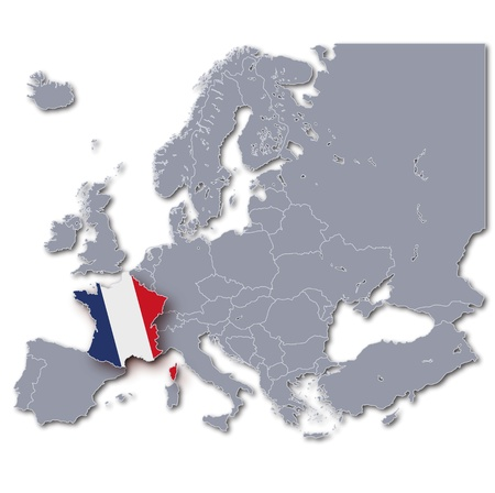 frenchman: Map France