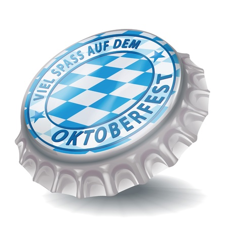 Bottle cap Oktoberfest photo