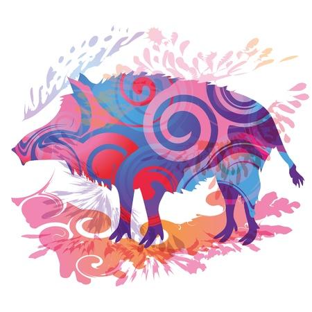 Wild boar Stock Photo - 15378041