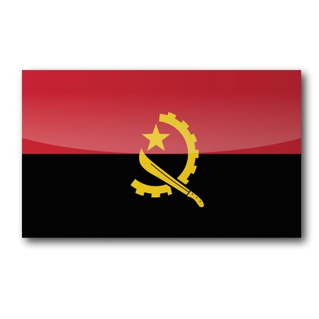machete: Flag Angola