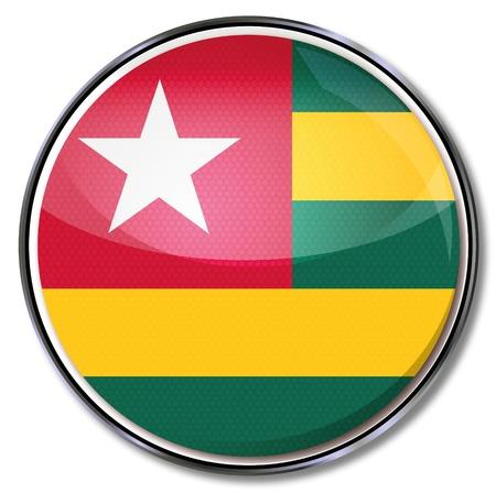 Button Togo Stock Vector - 15443266
