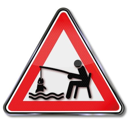 Sign fishing Stock Vector - 15443268