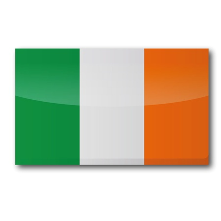Flag Ireland Stock Vector - 15538945
