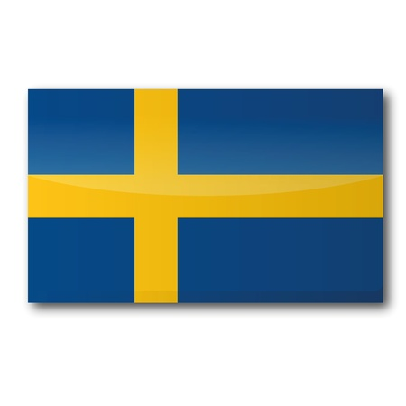 Flag Sweden Stock Vector - 15538954