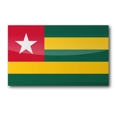 togo: Flag Togo