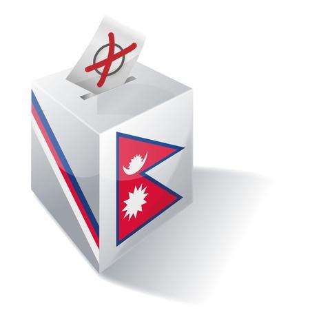 ballot box: Ballot box Nepal