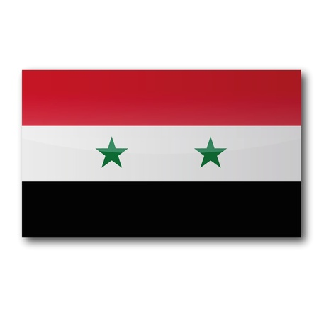 Flag Syria Stock Vector - 15596227