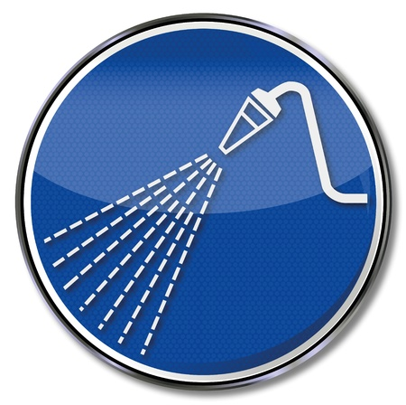 osh: Sign water nozzle