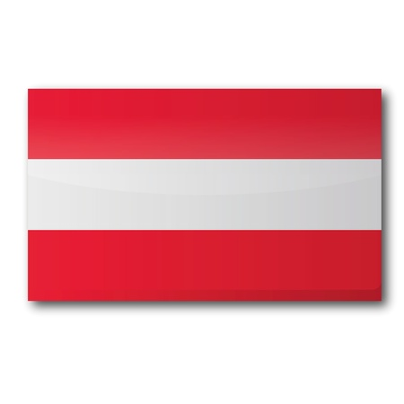 Flag Austria Stock Vector - 15646150