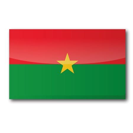 burkina faso: Flag Burkina Faso