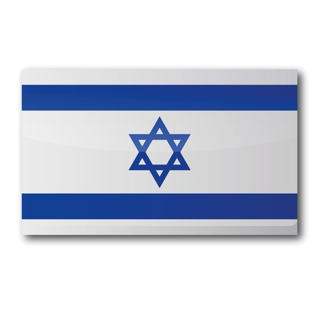 Flag Israel Stock Vector - 15911358