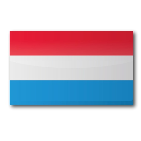 luxembourg: Flag Luxembourg