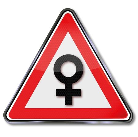 Sign female