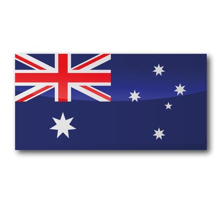 sydney australia: Flag Australia