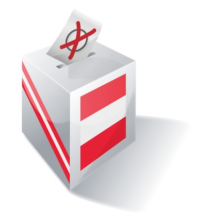voters: Ballot box Austria