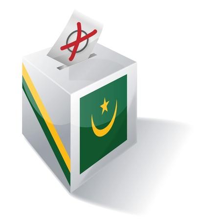 absentee: Ballot box Mauritania