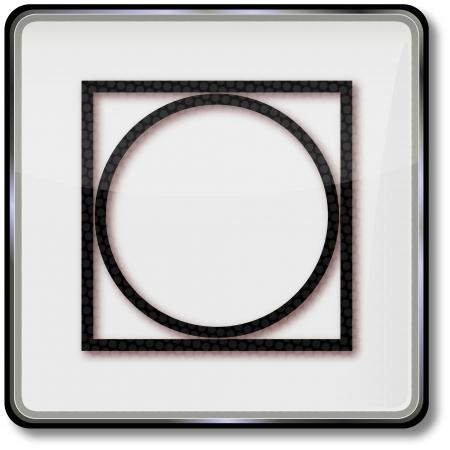 care symbol: Textile care symbol drying process tumbler