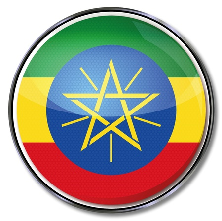 landlocked: Button Ethiopia Illustration