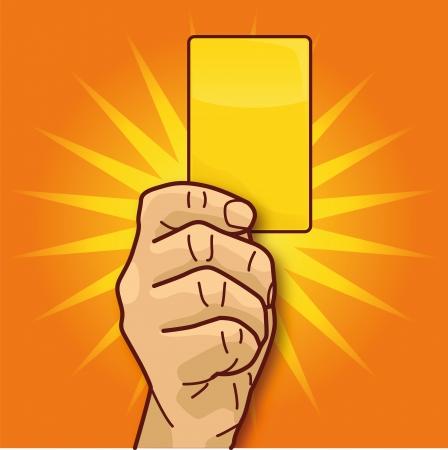 tarjeta amarilla: Sancionar con la tarjeta amarilla
