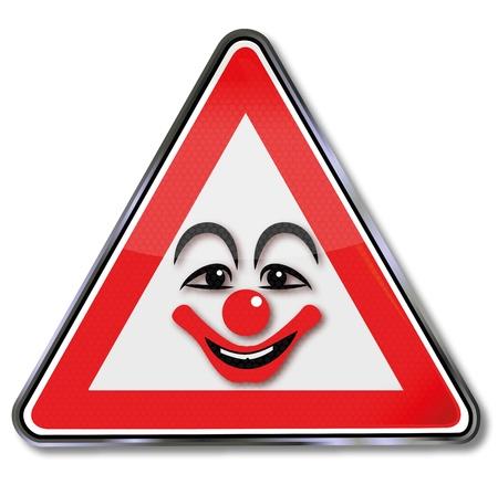 disfrazados: Reg�strate riendo cara de payaso