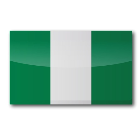 voting rights: Flag Nigeria