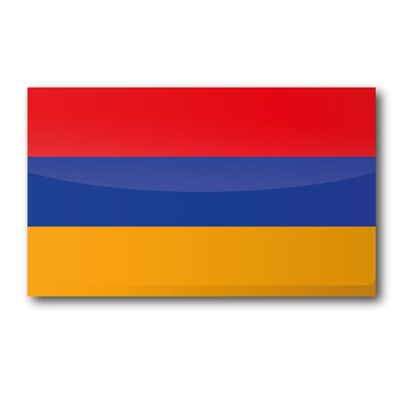 Flag Armenia Stock Vector - 16327368