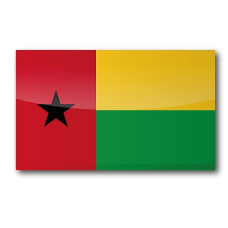 Flag Guinea-Bissau Stock Vector - 16327366