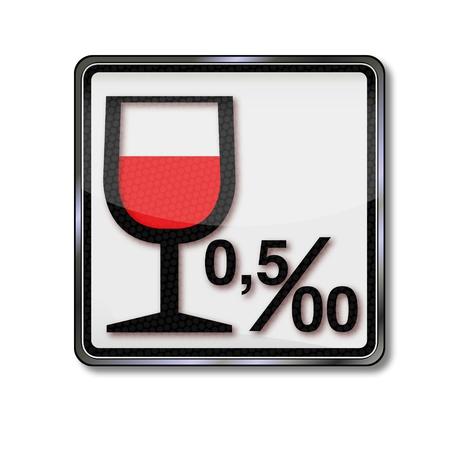 ivresse: Inscription limite d'alcool et l'alcool,