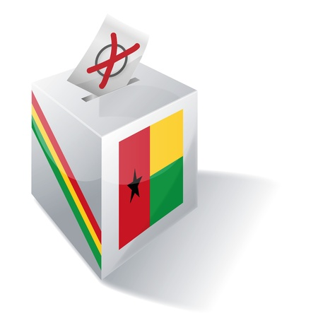 absentee: Ballot box Guinea-Bissau