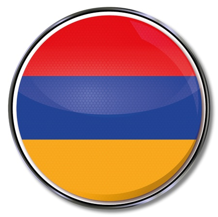 Button Armenia Stock Vector - 16433866