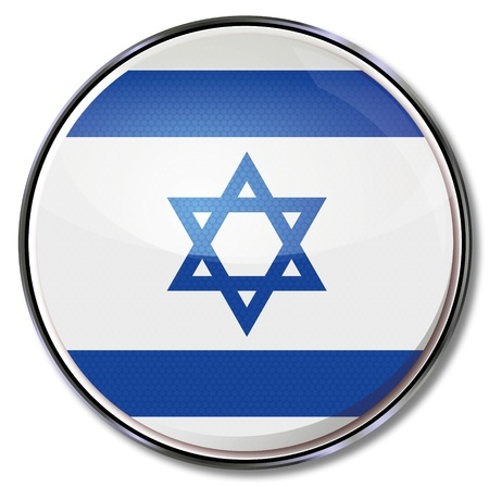 Button Israel Vector