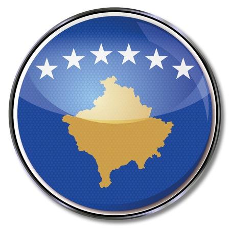 euro area: Flag Kosovo