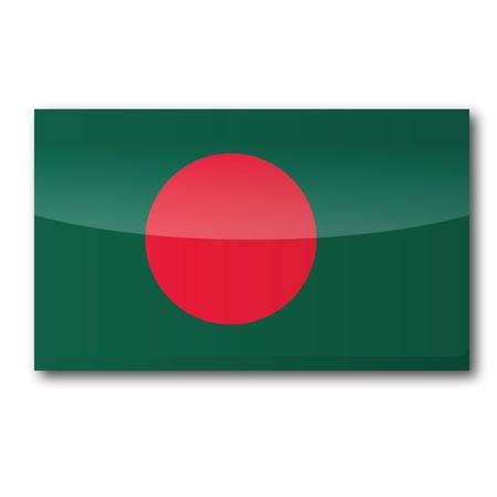 bengali: Flag Bangladesh