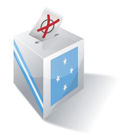 ballot box: Ballot box Micronesia