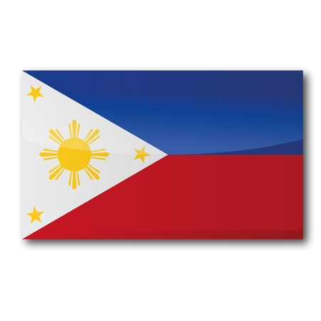 filipino: Flag Philippines Illustration