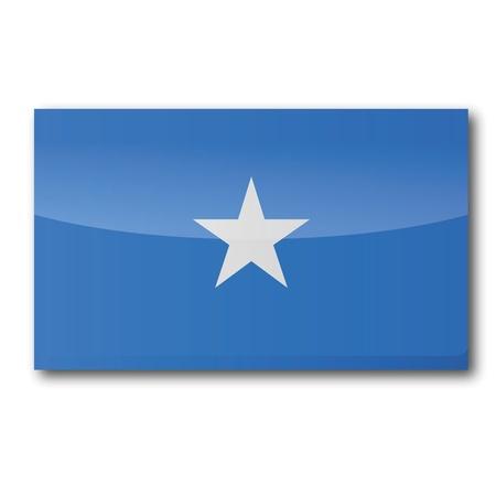 somali: Flag Somalia