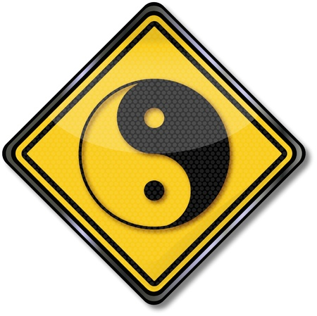 Sign Yin an Yang Stock Vector - 16547976