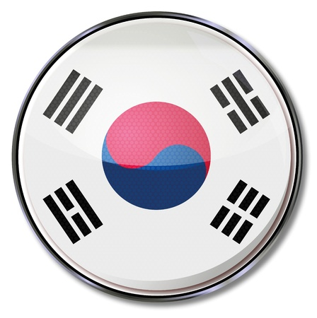 koreans: Button South Korea