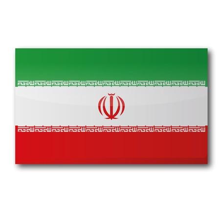 southwest asia: Flag Iran