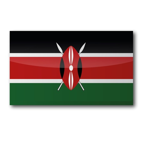 Flag Kenya Vector