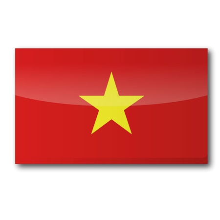 Flag Vietnam Stock Vector - 16807076