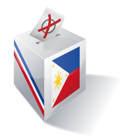 absentee voting: Ballot box Philippines