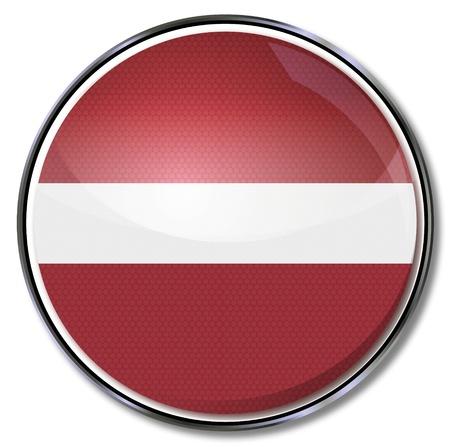 baltic: Button Latvia Illustration
